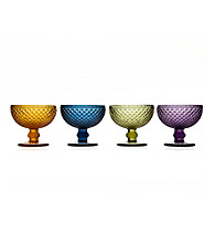 Godinger® Belmont Set of 4 Assorted Dessert Bowls
