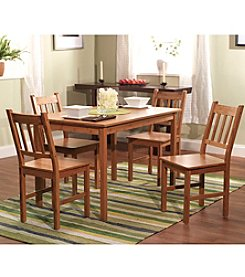 TMS 5-pc. Natural Dining Set
