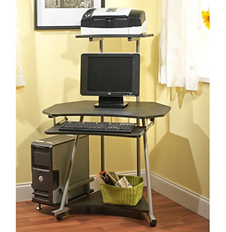 TMS Mobile Computer Desk Tower