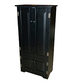 TMS Tall Black Cabinet