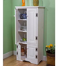 TMS Tall White Cabinet