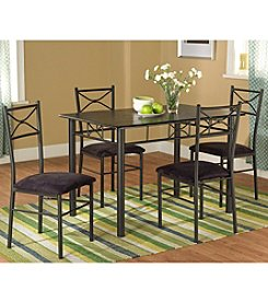 TMS 5-pc. Valencia Metal Dining Set