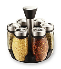 PURELIFE™ by Ragalta® 7-pc. Glass and Stainless Steel Spice Rack