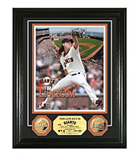 Tim Lincecum Gold Coin Photo Mint by Highland Mint