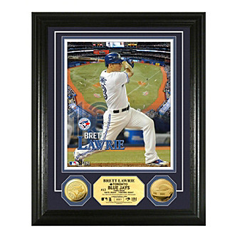 Brett Lawrie Gold Coin Photo Mint by Highland Mint