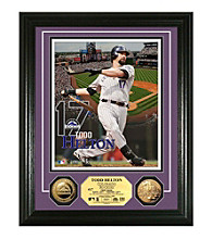 Todd Helton Gold Coin Photo Mint by Highland Mint