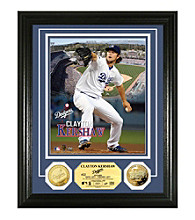 Clayton Kershaw Gold Coin Photo Mint by Highland Mint