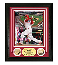 Jimmy Rollins Gold Coin Photo Mint by Highland Mint