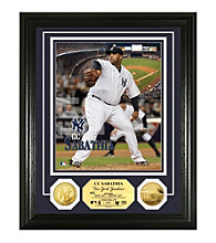 CC Sabathia Gold Coin Photo Mint by Highland Mint