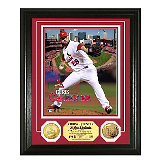 Chris Carpenter Gold Coin Photo Mint by Highland Mint