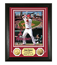 Matt Holliday Gold Coin Photo Mint by Highland Mint