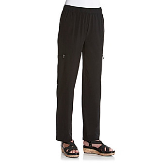 Laura Ashley® Jet Black Weekend Long Pant