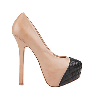"Steve Madden® ""Beauty-L"" Platform Pump - Natural"