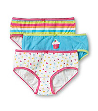 Carter's® Girls' 2-6X Pink/Turquoise/Green 3-pk. Hearts Panties