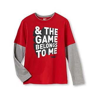 "PUMA® Boys' 4-20 ""Game Belongs to Me"" Tee"
