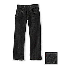 Levi's® Boys' 8-20 505™ 3D Black Straight Fit Jeans