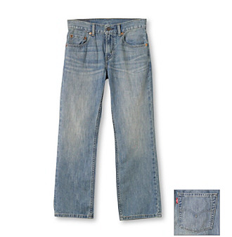 Levi's® Boys' 2T-20 505™ Anchor Wash Jeans