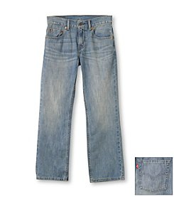 Levi's® 505™ Boys' 2T-20 plus Husky sizes Anchor Wash Jeans