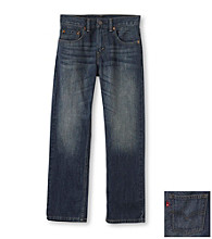 Levi's® Boys' 8-20 505™ Straight Fit Roadie Jeans - Navy