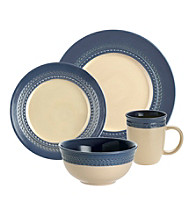 Paula Deen® Southern Gathering Blueberry 16-pc. Dinnerware Set