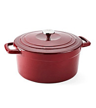 Guy Fieri 7-qt. Porcelain Cast-Iron Dutch Oven