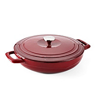Guy Fieri Porcelain Cast-Iron Braiser Pan