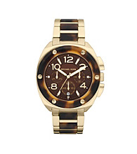 Michael Kors® Women's Stainless Steel and Acetate Watch