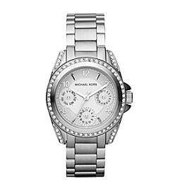 Michael Kors® Women's Stainless Steel Shiny Silvertone