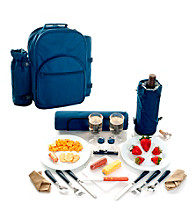 Trademark Global Toppers™ Casanova Cooler/Picnic Set with Blanket
