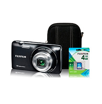 Fujifilm® FinePix JZ250 16MP Digital Camera with Accessories