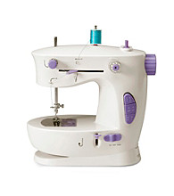 Michley Lil' Sew & Sew 2-Stitch Function Portable Sewing Machine