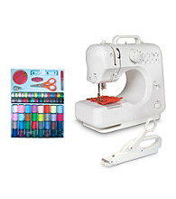 Michley Lil' Sew & Sew 3-pc. Desktop Sewing Machine Value Bundle