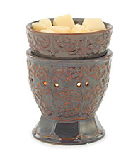 Candle Warmers Etc. Plum Goblet Ceramic Illumination Warmer