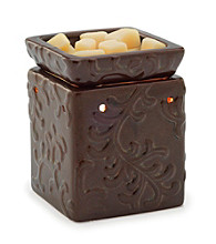 Candle Warmers Etc. Century Brown Ceramic Illumination Warmer
