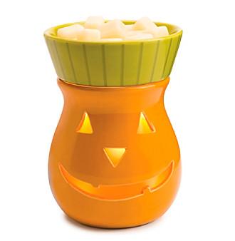 Candle Warmers Etc. Jack O Lantern Ceramic Illumination Warmer