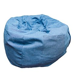 Fun Furnishings Denim Bean Bag Chair