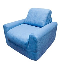 Fun Furnishings Denim Chair Sleeper