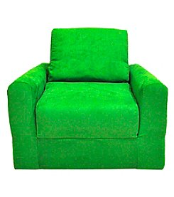 Fun Furnishings Micro Suede Chair Sleeper
