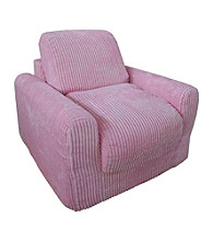 Fun Furnishings Chenille Chair Sleeper