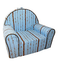 Fun Furnishings My First Chair Blue Moon Organic Print Chair