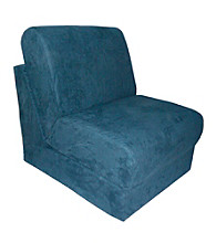 Fun Furnishings Micro Suede Teen Chair Sleepers