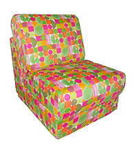 Fun Furnishings Space Cowboy Organic Print Teen Chair Sleeper