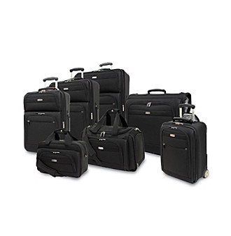 Ricardo Beverly Hills Huntington 3.0 Black Luggage Collection