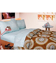 Medallion Cocoa Comforter Set by Rampage®