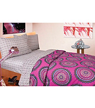 Medallion Pinkberry Comforter Set by Rampage®