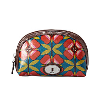 Fossil® Key-Per Small Dome Cosmetic Bag - Floral