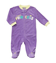 Carter's® Baby Girls' Purple Terry Princess Sleep and Play