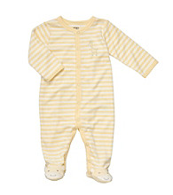 Carter's® Baby Yellow/White Striped Terry Giraffe Sleep and Play