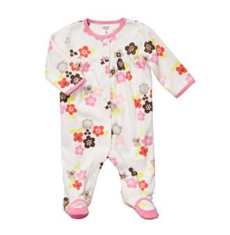 Carter's® Baby Girls' Ivory Floral Print Sleep N' Play