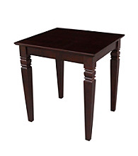 International Concepts Rich Mocha End Table